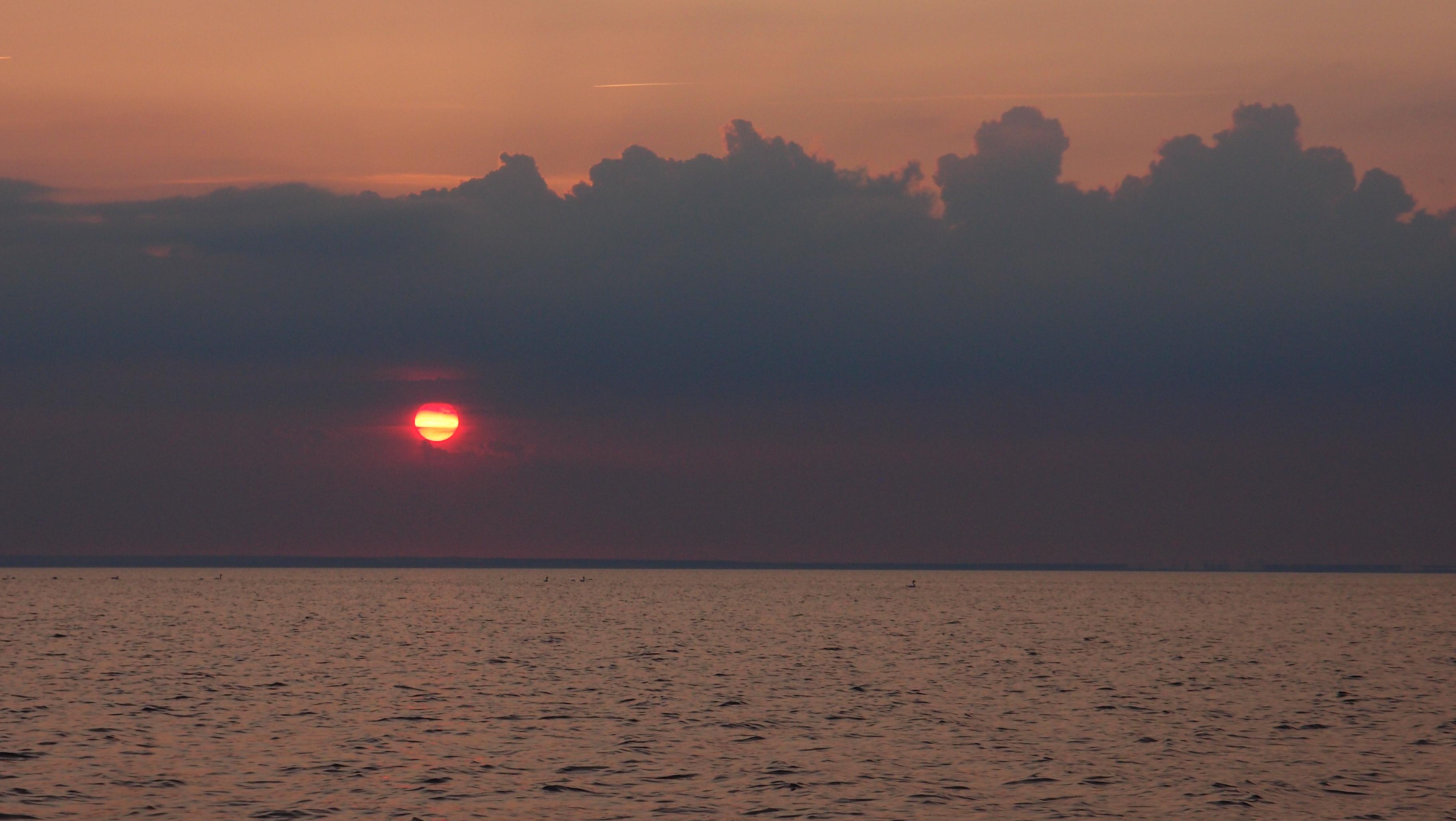 Sonnenuntergang in der Boltenhagener Bucht