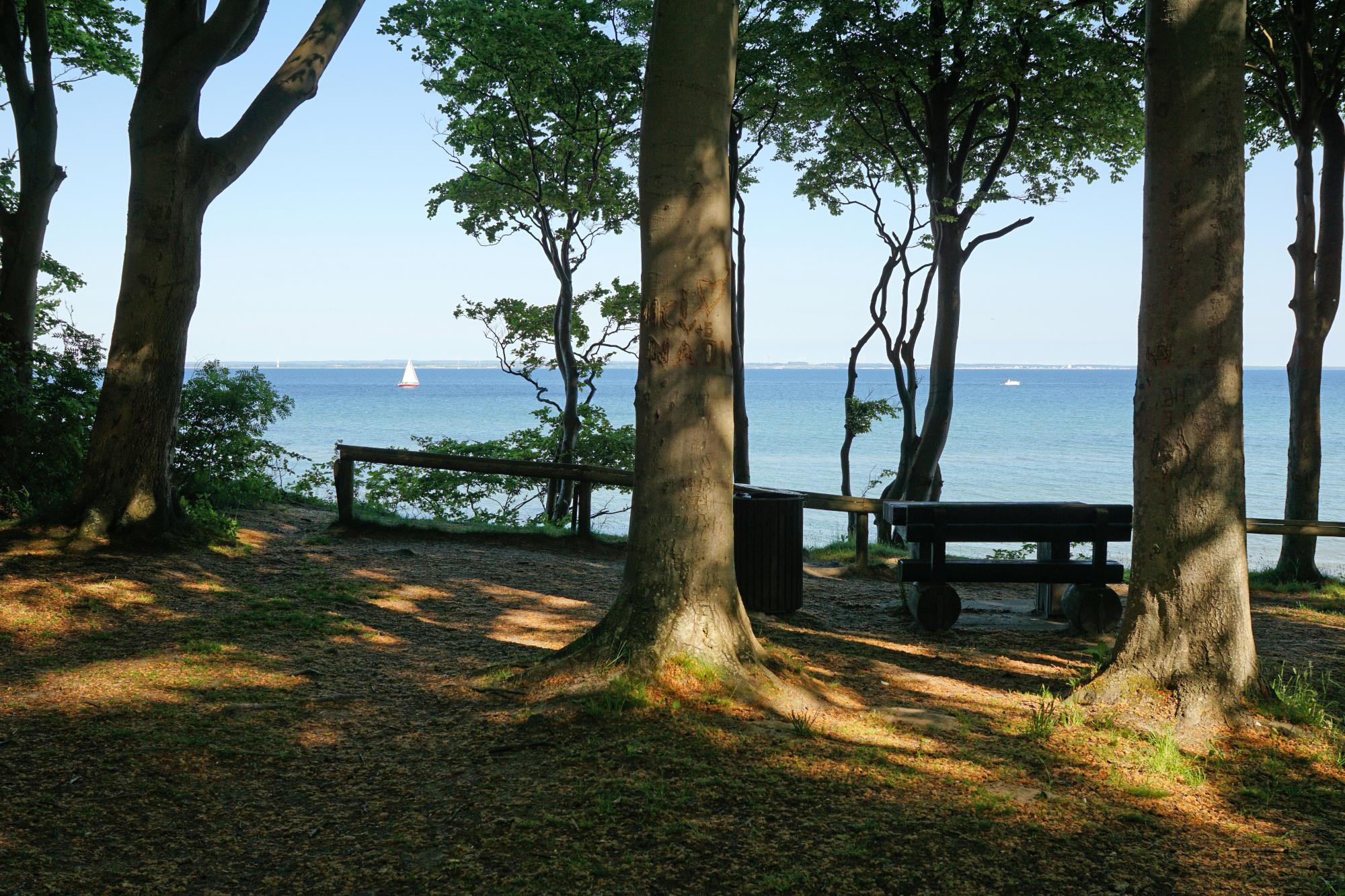 Tolle Sicht bis nach Schleswig-Holstein von der Brooker Höhe aus