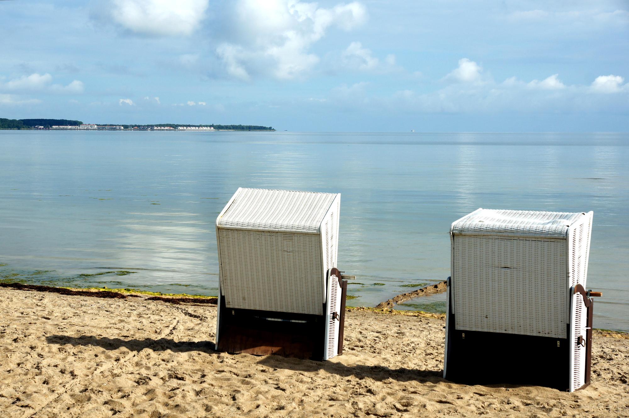 Weiter Blick auf die Ostsee an der Wohlenberger Wiek