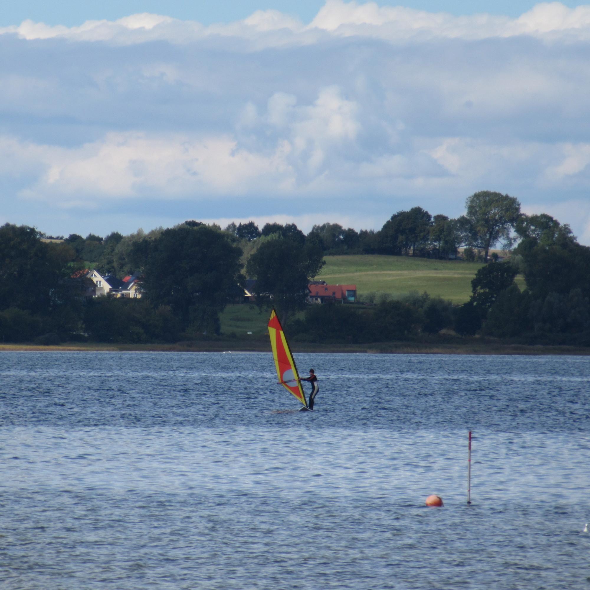 Windsurfer an der Wohlenberger Wiek
